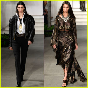 Kendall Jenner Struts Her Stuff in Ralph Lauren Show With Bella Hadid