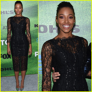 Kylie Bunbury Glitters at 'Pitch' Premiere in LA