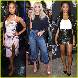 Leigh-Anne Pinnock, Serayah & Louisa Johnson Step Out For Several London Fashion Week Events