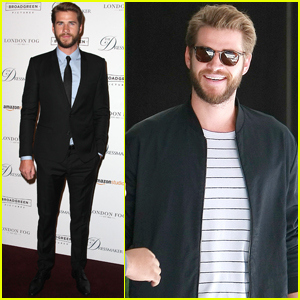 Liam Hemsworth Brings 'The Dressmaker' to NYC