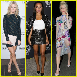 Lottie Moss, Serayah, & Pixie Lott Hit Up London Fashion Week Shows!
