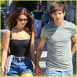 Louis Tomlinson & Danielle Campbell Hold Hands on Shopping Trip!