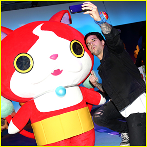 Mark Ballas Hosts Yo-Kai Watch 2 Preview Event in Hollywood
