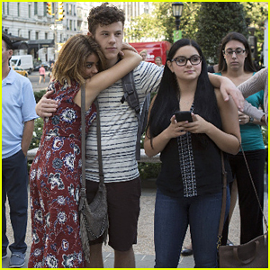 Sarah Hyland, Ariel Winter & Nolan Gould Take Over NYC For 'Modern Family's Season Premiere