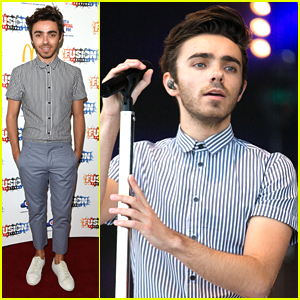 Nathan Sykes Wanted To Meet All His Fans After Fusion Festival 2016