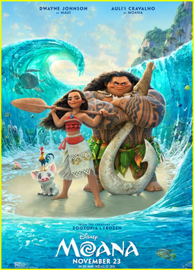 It's Surf's Up for Disney's New 'Moana' Poster!