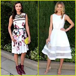 Nina Dobrev & AnnaLynne McCord Step Out for Rape Foundation Brunch