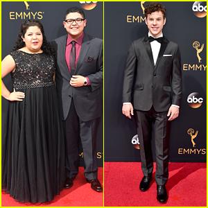 Rico Rodriguez Brings Sister Raini To Emmy Awards 2016