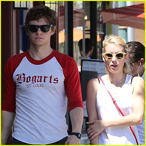 Emma Roberts & Evan Peters Spend the Afternoon Together!
