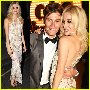 Pixie Lott Joins Boyfriend Oliver Cheshire at GQ Men of the Year Awards After Party