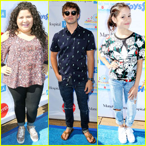 Raini Rodriguez & Jack Griffo Party on the Pier With Mattel Children's Hospital UCLA