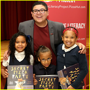 Rico Rodriguez Helps Pizza Hut Launch The Literacy Project Campaign