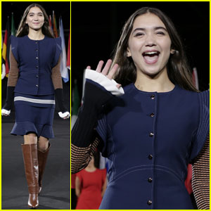 Rowan Blanchard Stuns While Walking in 'Opening Ceremony' NYFW Show!