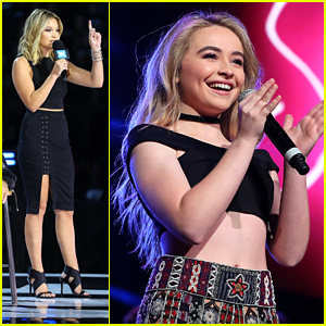 Sabrina Carpenter & Olivia Holt Step Out & Support WE Day Minnesota
