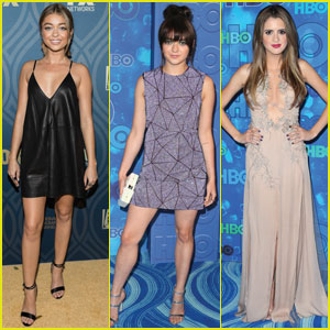 Sarah Hyland, Maisie Williams, & Laura Marano Party It Up After Emmys 2016!