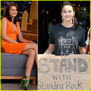 Shailene Woodley Continues the Fight Against the Dakota Access Pipeline