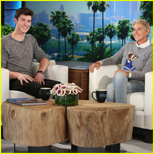 Shawn Mendes Explains His First Tattoo on 'The Ellen Show' - Watch Here!