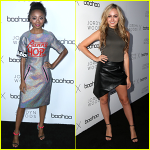 Skai Jackson & Sophie Reynolds Step Out For The 'Boohoo x Jordyn Woods' Fashion Event