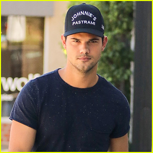 Taylor Lautner Promotes Upcoming TV Appearances