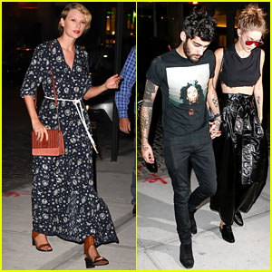 Gigi Hadid & Zayn Malik Hang Out at Taylor Swift's Place!
