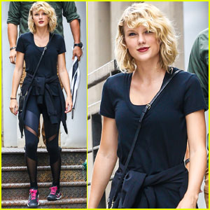 Taylor Swift Hits The Gym After Breakup With Tom Hiddleston