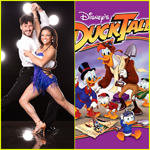 Laurie Hernandez & Val Chmerkovskiy To Dance to 'Duck Tales' Theme on DWTS!
