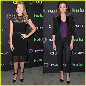 Tori Anderson & Peyton List Talk Their New CW Shows at PaleyFest