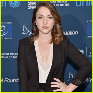 Violett Beane Steps Out for UNICEF in NYC