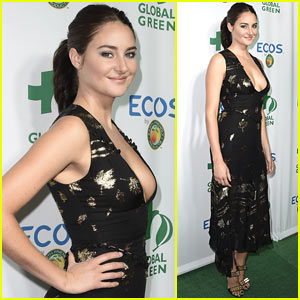Shailene Woodley is Honored for Her Activism & Leadership at Global Green Awards!
