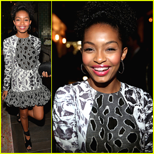 Yara Shahidi Hits Audi's Emmy Celebration After Grabbing A Spot on Vanity Fair's 12 Under 25
