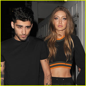Gigi Hadid & Zayn Malik Hold Hands at Versace Show During London Fashion Week!
