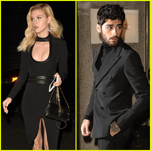 Zayn Malik, Nicola Peltz, & Hailee Steinfeld Rock the Red Carpet Outside Tom Ford's Fashion Show