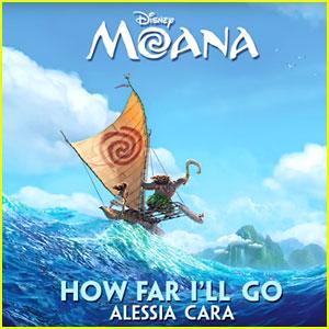 'Moana' Song 'How Far I'll Go' - Hear Alessia Cara Sing It!