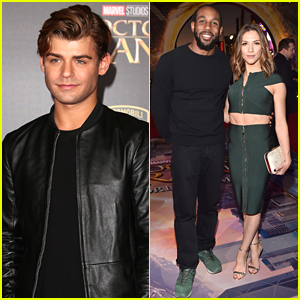 Garrett Clayton Misses Own Premiere For 'Doctor Strange' in Hollywood