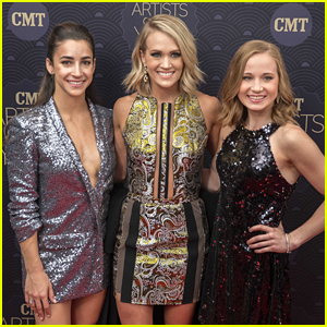 Final Five Gymnasts Aly Raisman & Madison Kocian Hit CMT Artists Of the Year with Carrie Underwood!