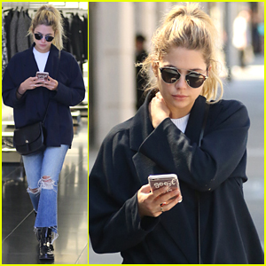Ashley Benson Shops On Rodeo Drive After The Final PLL Table Read