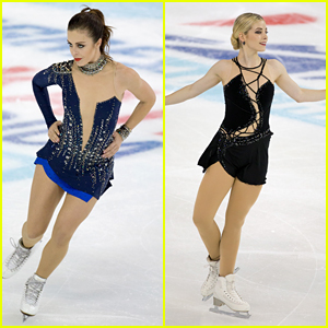 Figure Skaters Ashley Wagner & Gracie Gold Lead Team USA at Skate America 2016