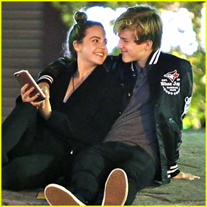 Bailee Madison & Alex Lange Celebrate Her Birthday With Dinner Date