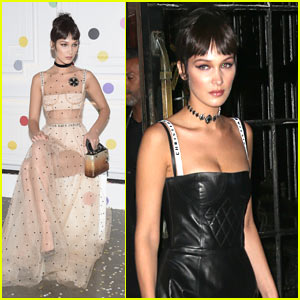 Bella Hadid Stuns in Dior for a Night Out in NYC!