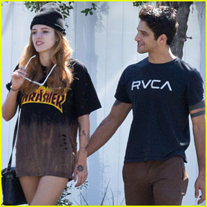 Bella Thorne & Tyler Posey Grab Lunch on Her Birthday Weekend!