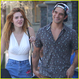 Bella Thorne & Tyler Posey Lunch After She Wraps Shooting 'Famous in Love'