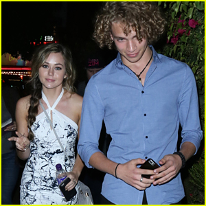 Brec Bassinger & 'Invisible Sister's Will Meyers Attend Premiere in LA Together