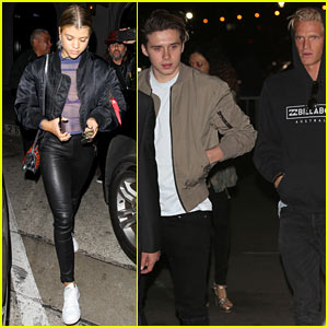 Sofia Richie, Brooklyn Beckham & Cody Simpson Check Out Kanye West in Concert