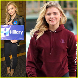 Chloe Moretz Grabs Coffee After Helping Register Voters in Michigan