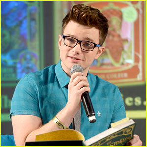 Chris Colfer Talks New Book 'Stranger Than Fanfiction' at EW PopFest