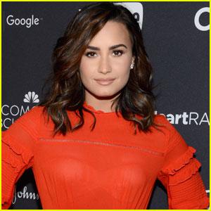 OMG! Demi Lovato is Blonde Again!