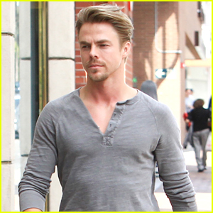 Derek Hough is Feeling Better After Having a Chest Cough