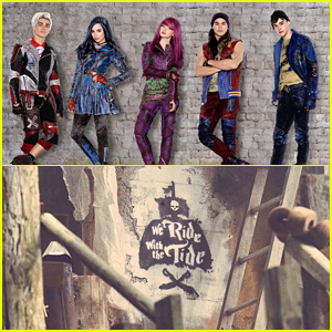 China McClain Shares Cool Graffiti Artwork From 'Descendants 2' Set