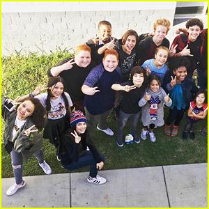 Disney Stars Jenna Ortega, Landry Bender & More Gather For Epic Retreat