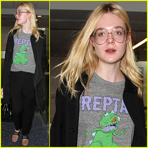 Elle Fanning Jets Out of Town Just Before the Weekend